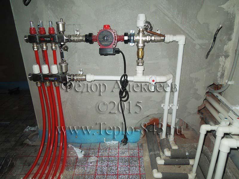 Расширительный бак для отопления установка